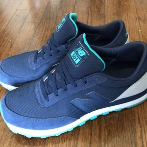 new balance 501 womens navy